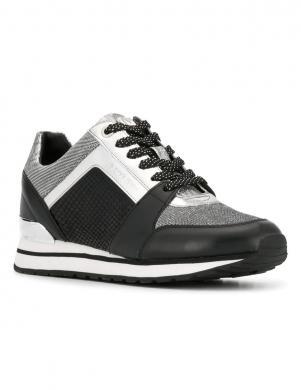 MICHAEL KORS sieviešu melnas/sudraba krāsas brīva laika apavi