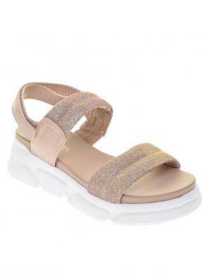 S.OLIVER sieviešu rozā brīva laika sandales
