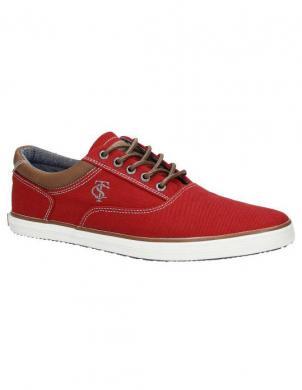 TOM TAILOR vīriešu sarkani apavi
