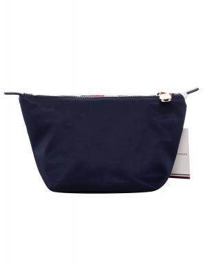 TOMMY HILFIGER zila sieviešu kosmētikas somiņa