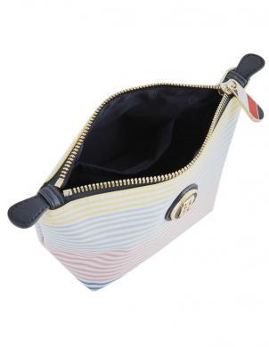 TOMMY HILFIGER krāsaina sieviešu kosmētikas somiņa