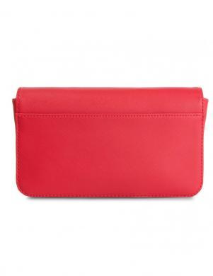 TOMMY HILFIGER sarkana sieviešu soma pār plecu