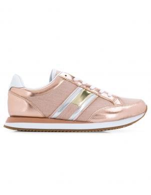 TOMMY HILFIGER sieviešu rozīgi zelta krāsas brīva laika apavi