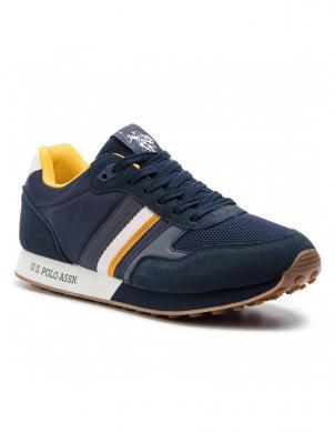 U.S. POLO ASSN. vīriešu zili brīva laika apavi