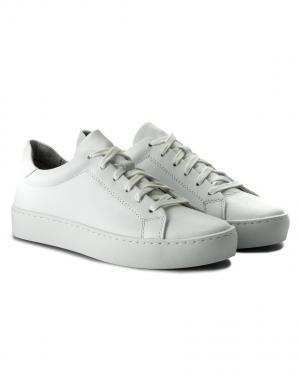 VAGABOND sieviešu balti ādas brīva laika apavi ZOE
