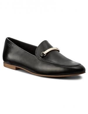 VAGABOND sieviešu melni ādas apavi ELIZA