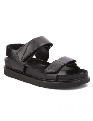 VAGABOND sieviešu melnas ādas sandales ERIN