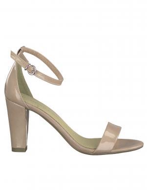 MARCO TOZZI sieviešu rozā lakotas augstpapēžu sandales