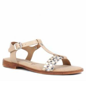 TAMARIS sieviešu gaišas ādas sandales SERA