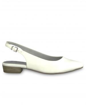 TAMARIS sieviešu baltas aizdares sandales SCOTA