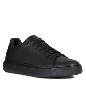 GEOX vīriešu melni ādas apavi DEIVEN