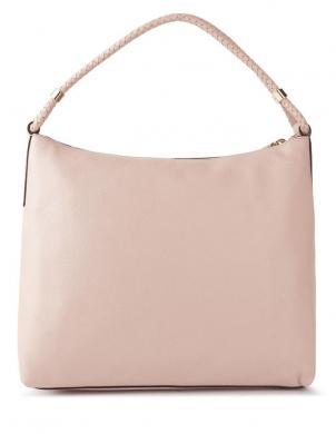 MICHAEL KORS krēmīgas krāsas sieviešu ādas soma