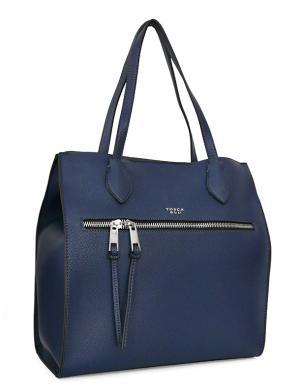 TOSCA BLU zila ļoti liela sieviešu soma