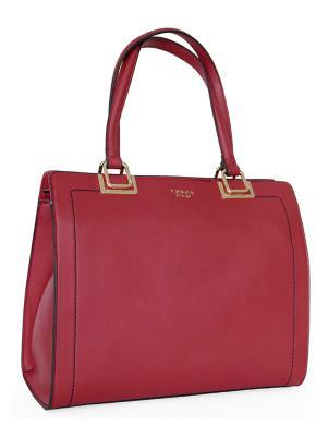 TOSCA BLU sarkana liela sieviešu soma