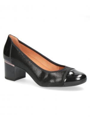 CAPRICE sieviešu melni rāpuļu imitācijas apavi