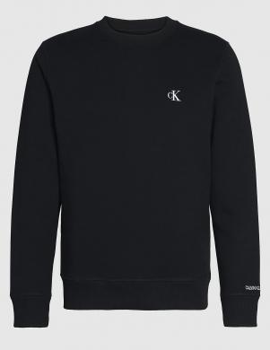 CALVIN KLEIN JEANS vīriešu melns džemperis