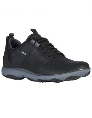 GEOX vīriešu melni ikdienas apavi NEBULA 4 X 4 B ABX