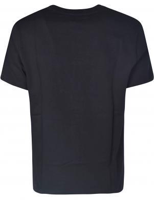 KENZO sieviešu melns krekls ar īsām piedurknēm