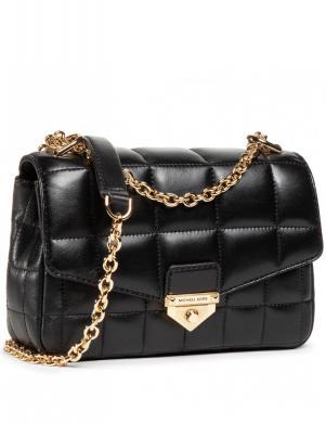 MICHAEL KORS sieviešu melna maza soma pār plecu