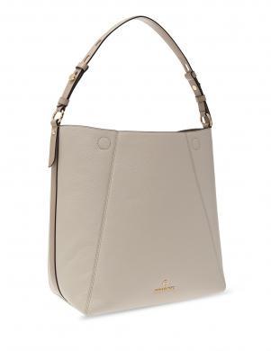 MICHAEL KORS sieviešu krēmīgas krāsas ādas soma