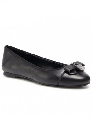 MICHAEL KORS sieviešu melni balerīnas apavi