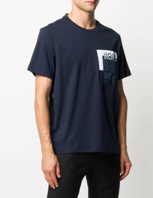 MICHAEL KORS vīriešu tumši zils krekls