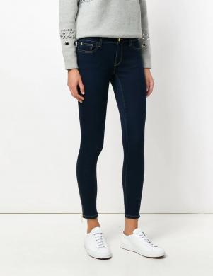 MICHAEL KORS sieviešu tumši zili pieguļoši džinsi