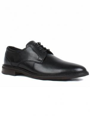 SALAMANDER vīriešu melni klasiski apavi AMBRO