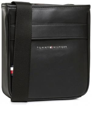 TOMMY HILFIGER vīriešu melna soma pār plecu