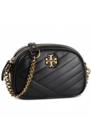 TORY BURCH sieviešu melna soma pār plecu