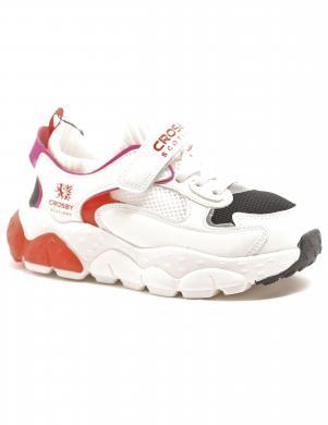 CROSBY bērnu balti ikdienas apavi