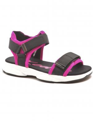 KEDDO bērnu melnas - rozā sandales
