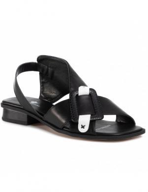 KEDDO sieviešu melnas sandales