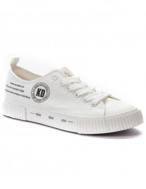 KEDDO DENIM sieviešu balti ikdienas apavi