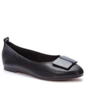 BETSY sieviešu melni balerīnas apavi