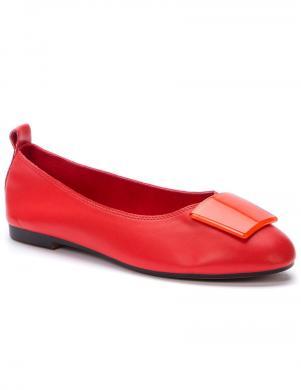 BETSY sieviešu sarkani balerīnas apavi