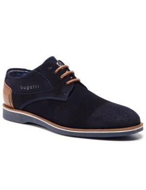 BUGATTI vīriešu zili apavi Melchiore