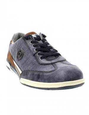 BUGATTI vīriešu zili ikdienas apavi Solar Exko