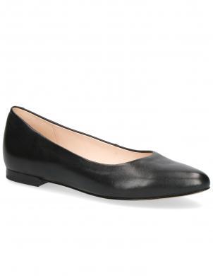CAPRICE sieviešu melni ar gludu papēdi apavi