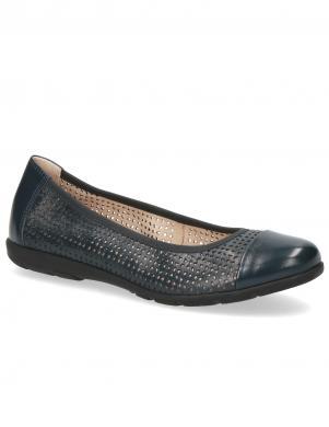 CAPRICE sieviešu tumši zili balerīnas apavi