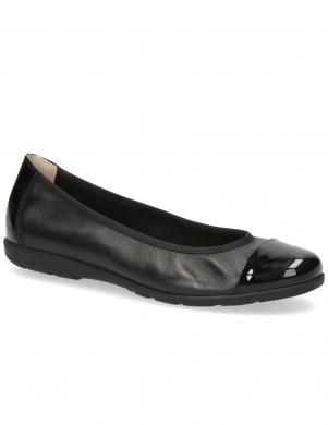 CAPRICE sieviešu melni balerīnas apavi