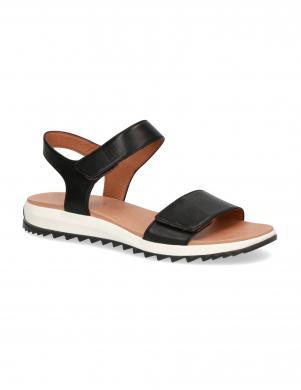 CAPRICE sieviešu melnas sandales