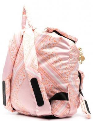 SEE BY CHLOE sieviešu rozā rakstaina mugursoma