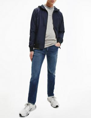 CALVIN KLEIN JEANS vīriešu tumši zila īsa jaka