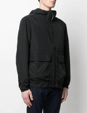 CALVIN KLEIN vīriešu melna jaka ar kapuci