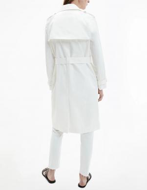 CALVIN KLEIN sieviešu balts lietusmētelis