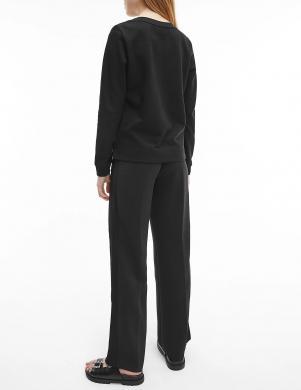 CALVIN KLEIN sieviešu melns džemperis