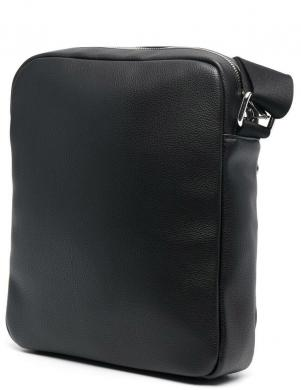 CALVIN KLEIN vīriešu melna soma pār plecu REPORTER
