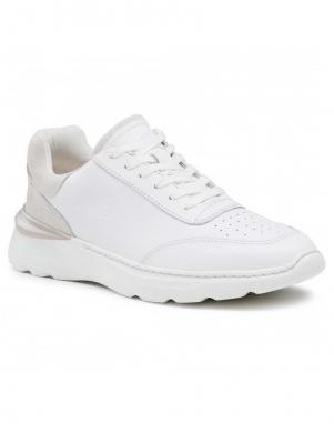 CLARKS vīriešu balti ikdienas apavi Sprint Lite Lace
