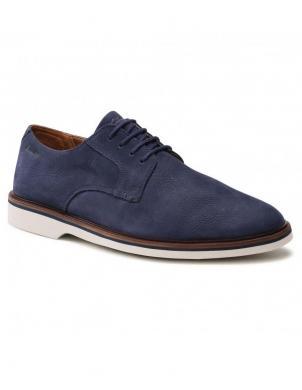 CLARKS vīriešu tumši zili klasiski apavi Malwood Plain